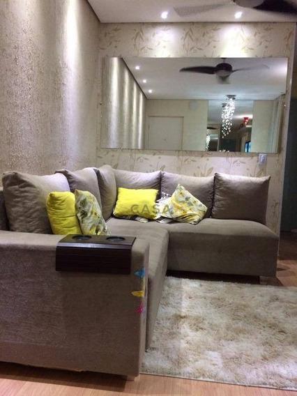 Apartamento Com 2 Dormitórios À Venda, 50 M² Por R$ 190.000,00 - Planalto Do Sol Ii - Santa Bárbara D