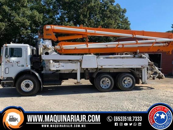 Bomba De Concreto 1991 Mack 28 M, Bombas, Concreto, Mack