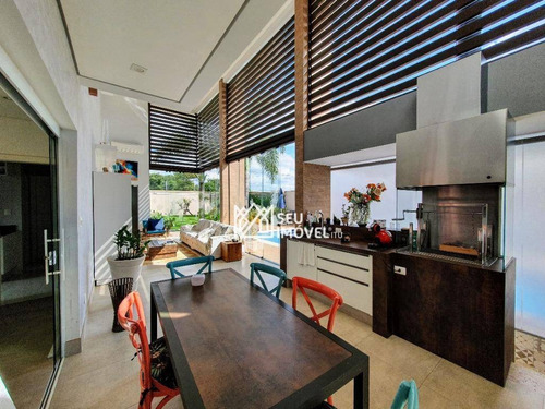Casa Com 4 Dormitórios À Venda, 450 M² Por R$ 2.880.000,00 - Condomínio Parque Ytu Xapada - Itu/sp - Ca2148
