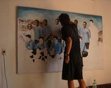 Pintura De Murales, Banderas De Estadio, Fachadas