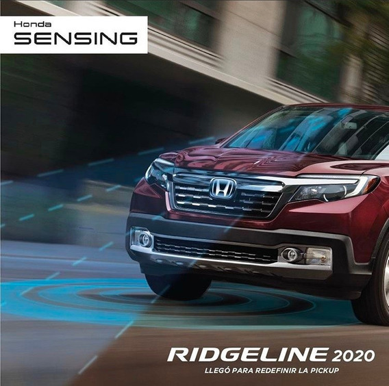 Honda Ridgeline 3.5 Rtlt V6 4x4 At Honda Sensing