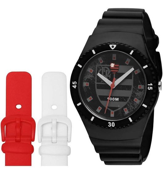 Relógio Technos Flamengo Troca Pulseira + Nf Ctsports