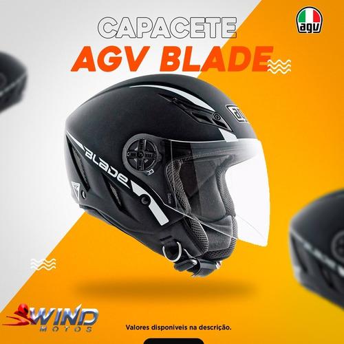 Capacete Agv Blade Preto