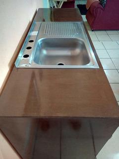 Vendo Mueble Nuevo Con Tarja Para Cocina, Incluye Accesorios