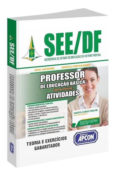 Apostila See-df - Professor De Educação Básica - Atividades