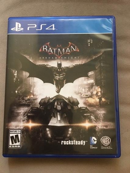 Jogo Ps4 Batman Arkham Knight