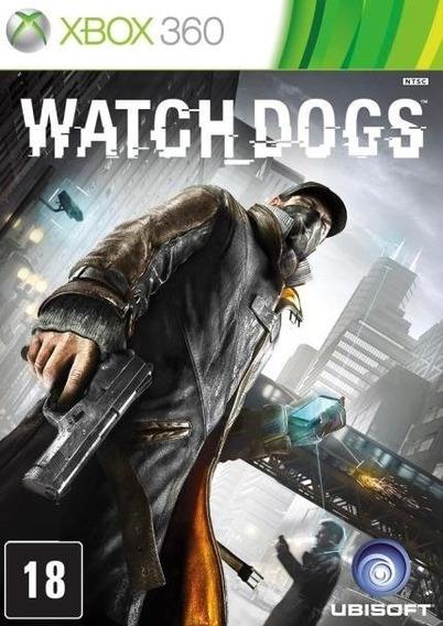 Watch Dogs Xbox 360 Midia Física