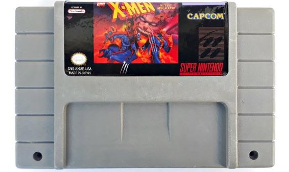 Jogo X-men Mutant Apocalypse Super Nintendo Retrô Frete Grátis