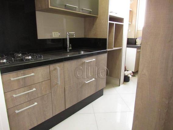 Apartamento Com 3 Dormitórios À Venda, 70 M² Por R$ 330.000,00 - Centro - Piracicaba/sp - Ap3267