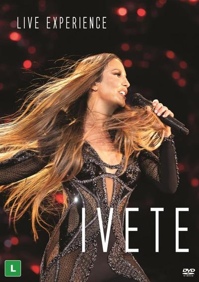Dvd Duplo Ivete Sangalo - Live Experience