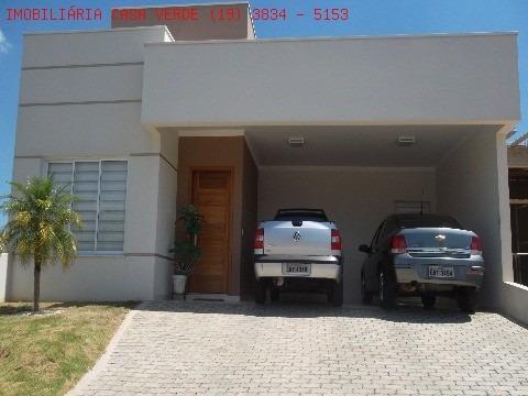 Vender Casa Em Indaiatuba, No Condominio Terra Nobre. - Ca04168 - 2073835
