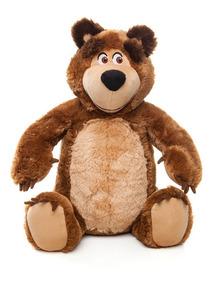 Masha E O Urso - Boneco Urso Pelúcia - Estrela