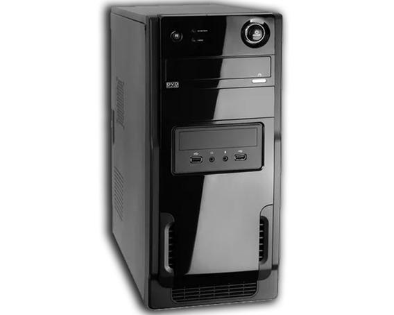 Cpu Nova Intel Core 2 Duo 2gb Hd 80gb + Wifi C/ Windows 7