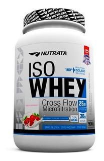2x Iso Whey Nutrata 900g (1,8kg) - Whey Isolado - Promoção