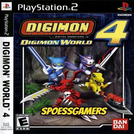 Digimon World 4 Ps2 Desbloqueado Patch