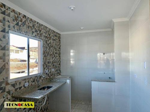 Excelente Casa Com 02 Dormitórios Para Venda Com 50 M² No Bairro Jardim Quietude Em Praia Grande/sp. - Ca4745