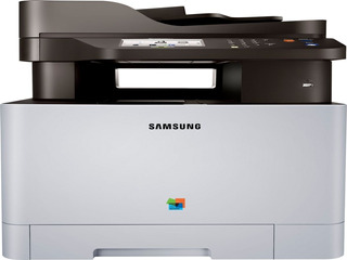 Impresora Laser Color Samsung C1860fw Multifunción Wifi Red