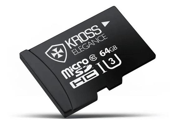 Cartão De Memória Microsd Kross 64gb Uhs3 Ke-mc64gbu3