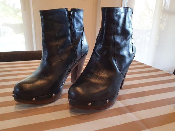 Zapatos Botinetas Con Plataforma Hush Puppies Talle 38