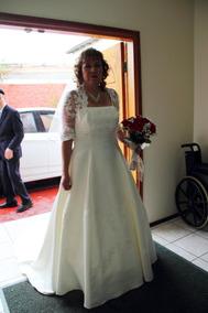 Vestido De Novia Mas Accesorios Talla 44-48 $140.000