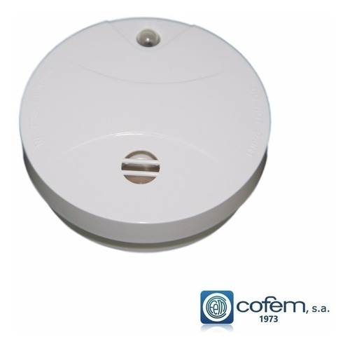 Detector De Humo Sentek Sd218 Inalambrico Autonomo C/ Sirena
