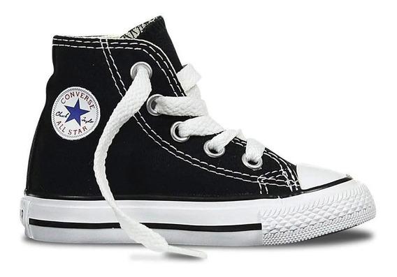 Zapatillas Converse Chuck Taylor All Star Lona Negra Niños-7