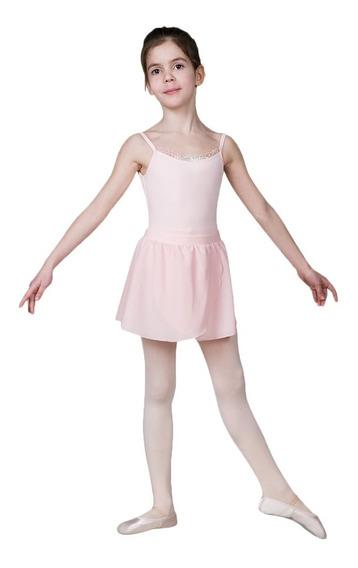Falda De Ballet Para Niñas. Sansha. Modelo Camille