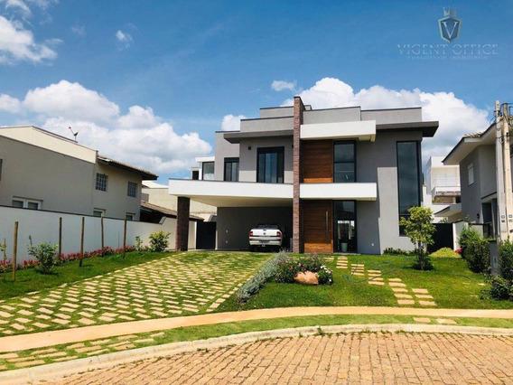 Maravilhosa Casa À Venda No Condomínio Reserva Da Serra - Ca0535
