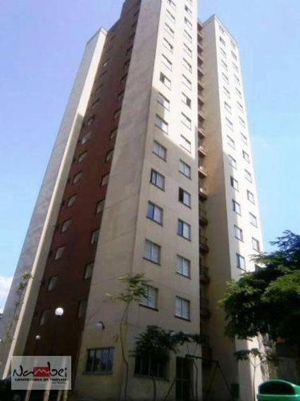 Apartamento Com 2 Dormitórios À Venda, 49 M² Por R$ 210.000 - Vila Carmosina - São Paulo/sp - Ap0044