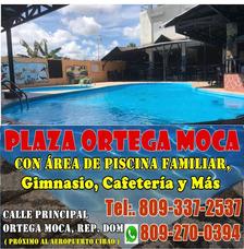 Plaza Ortega Moca, Hay Piscina, Se Baila Y Cerveza Fría, Rd