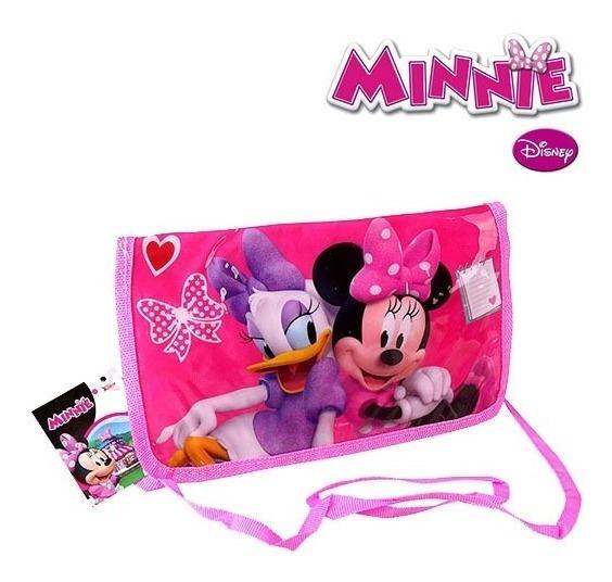 Bolsa De Vinil Infantil Retangular Minnie 24x15cm Dyh-266