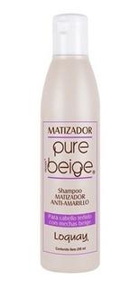 Loquay Pure Beige Shampoo Matizador 250 Ml
