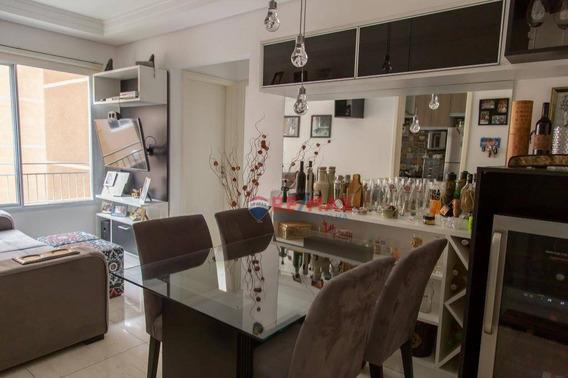 Apartamento Com 2 Dormitórios À Venda, 50 M² Por R$ 210.000,00 - Vila Barcelona - Sorocaba/sp - Ap2260