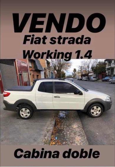 Fiat Strada 1.4 Trekking C/capota + Pack Seg 2014