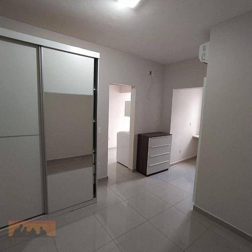 Kitnet Com 1 Dormitório Para Alugar, 30 M² Por R$ 1.300,00/mês - Cidade Universitária - Campinas/sp - Kn1103