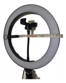 Ring Light Completo Iluminador Portátil 26cm+tripé2m Certeza