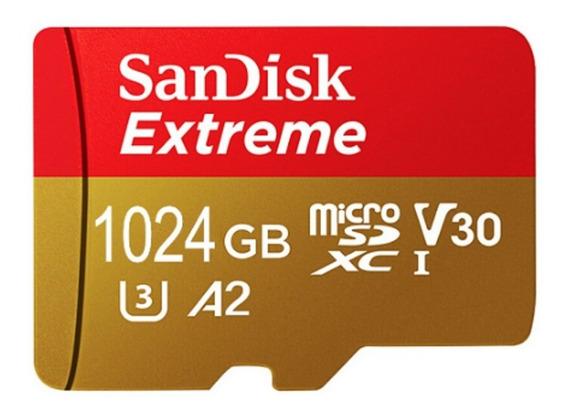 Cartão De Memória Sandisk Extreme Sdxc 1 Tb ( 1024 Gb) Im