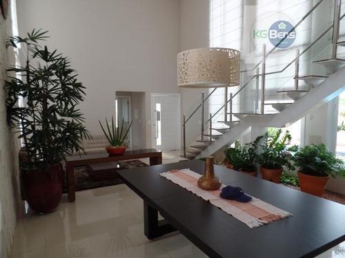 Casa Residencial À Venda, Condomínio Terras Do Cancioneiro, Paulínia. - Ca0125