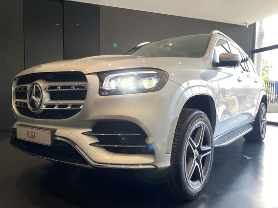 Mercedes Benz Gls 450 4*4 At Cuero 2021 - 0km Plata
