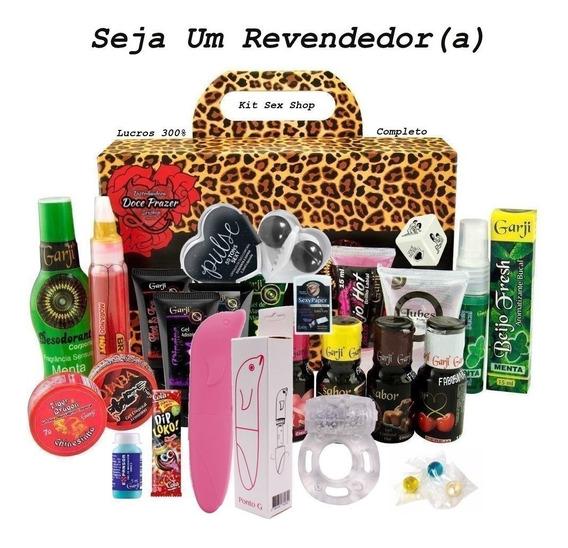 Kit Vibrador Ponto G Sexy Shop 51 Produtos Atacado Revenda