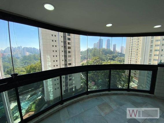 Apartamento Com 4 Dormitórios À Venda, 288 M² Por R$ 1.350.000,00 - Panamby - São Paulo/sp - Ap1861