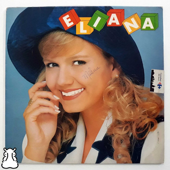 Lp Eliana Pop Pop Infantil Disco De Vinil 1994 Com Encarte