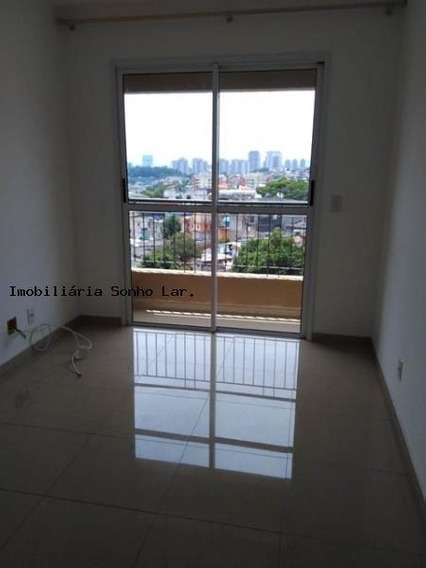 Apartamento A Locação Em Osasco, Bussocaba, 2 Dormitórios, 1 Banheiro, 1 Vaga - 4875