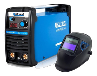 Soldador Inversor Elite Arc200s 110/220v +careta Electrónica