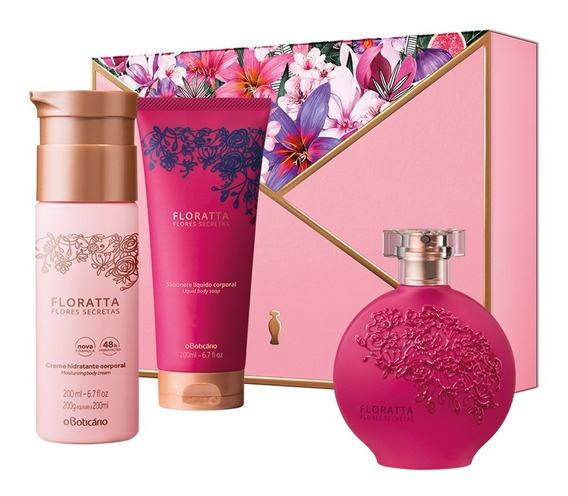 Kit Presente Floratta Flores Secretas