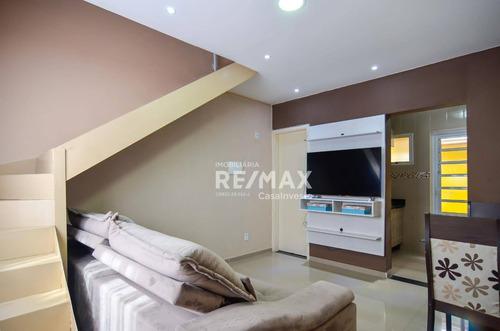 Sobrado Com 2 Dormitórios, R$ 158.000 - Água Espraiada (caucaia Do Alto) - Cotia/sp - So0190