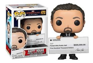 Funko Pop Marvel Spider-man Happy Hogan 472 Nuevo Vdgmrs