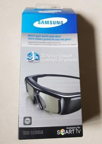 Samsung Ssg-3100gb Óculos 3d Active Preto P/tvs 3d C/ 6 Unid
