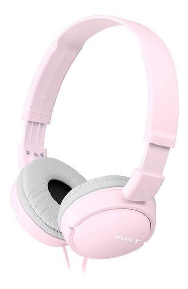 Fone de ouvido Sony MDR-ZX110 rosa
