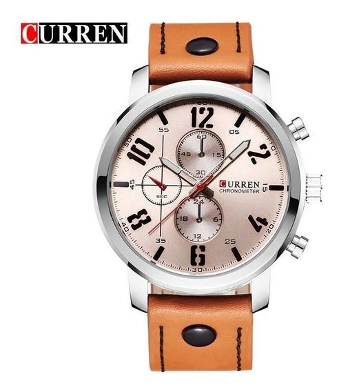Relógio Masculino Curren 8192 Militar Prova D